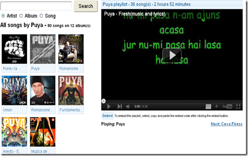 muzica online-puya