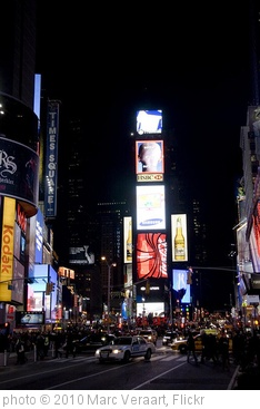 'New York - Time Square' photo (c) 2010, Marc Veraart - license: http://creativecommons.org/licenses/by-nd/2.0/