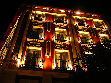 Centrul Madridului by night