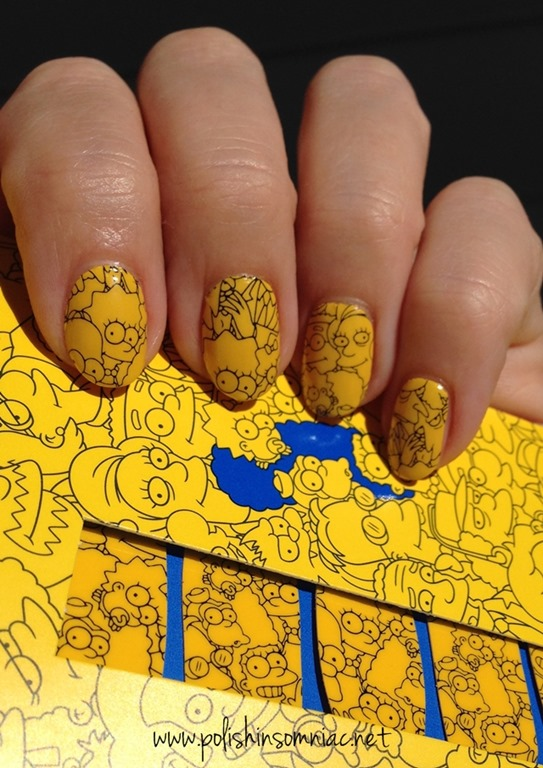 MAC   The Simpons Cuticles Nail Stickers