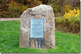Alexander Spotswood Discovers the Valley of the Shenandoah monument
