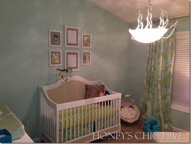 Blue and Green Nursery Gender Neutral