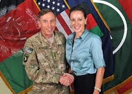 Paula Broadwell and Petraeus