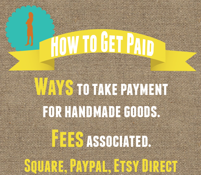 Fees for Taking Payments on Handmade Items