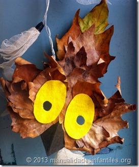 mascara-de-buho-con-hojas-secas by manualidadesinfantilesorg