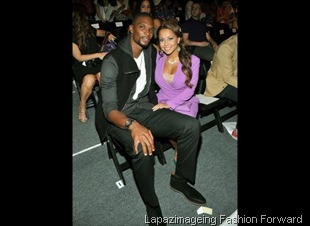 Chris Bosh and Fiance Andrienne Williams
