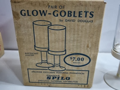 Glow goblets by David Douglas, box