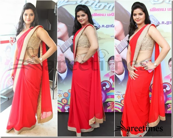 Red_Saree