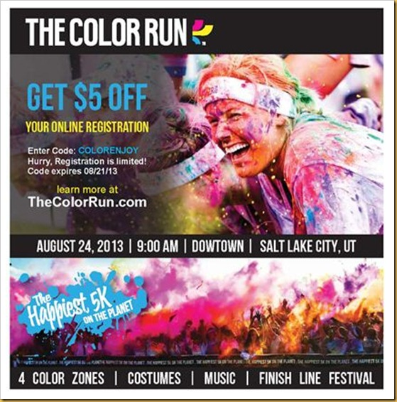 Color Run Discount