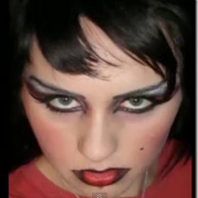 Maquillaje De Diabla Decoracion De Torta