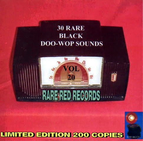 Rare Black Doo-Wop Sounds Vol. 20 - 31 - Front