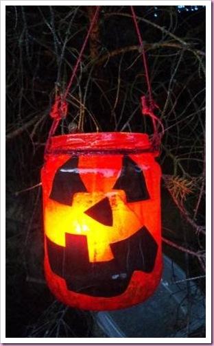 Halloween Jar Lantern 1