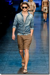 D&G Menswear Spring Summer 2012 Collection Photo 18