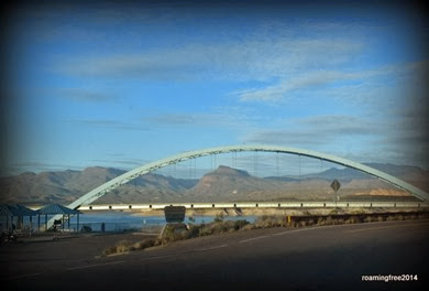 Bridge over Roosevelt Lake