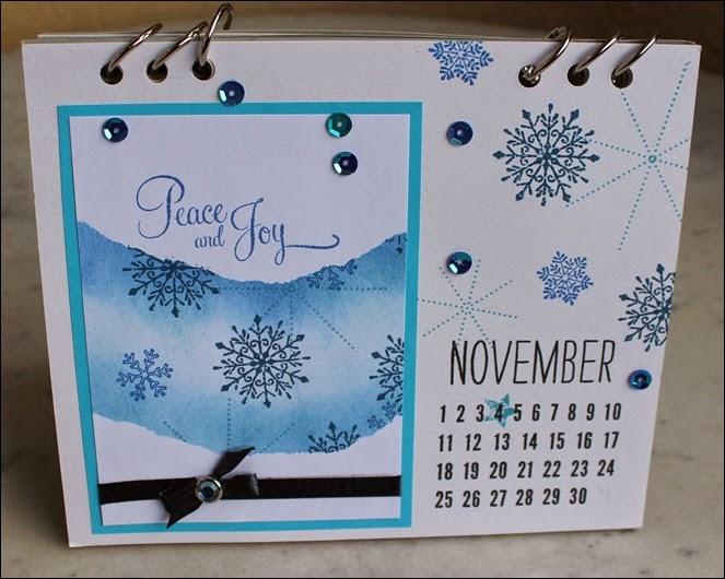 Tischkalender 2015 selbermachen basteln Blanko Vorlage 14