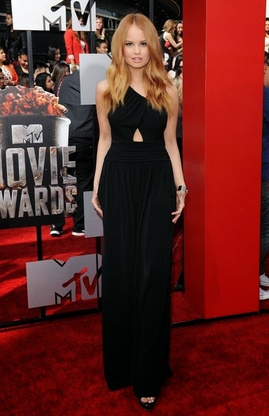 Debby Ryan 2014 MTV Movie Awards Arrivals