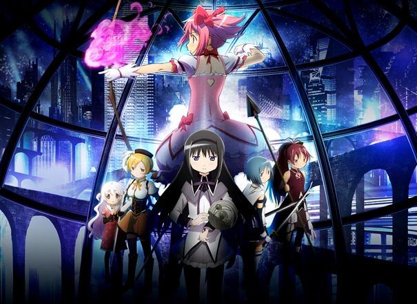 Terceiro Filme de Madoka Magica Lucra  ¥570 Milhões