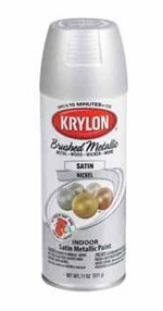 krylon brushed metallic