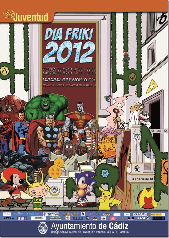 Cartel Día Friki 2012