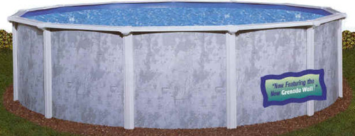 Above ground swimming pools like the PonderosaGLX are great starter pools and they lack nothing for swimming pool enjoyment. These are complete pool kits, priced right where you need them to be. View More Info at - http://goo.gl/E2yGt