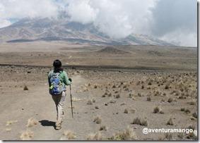 Rumo ao topo do Kilimanjaro