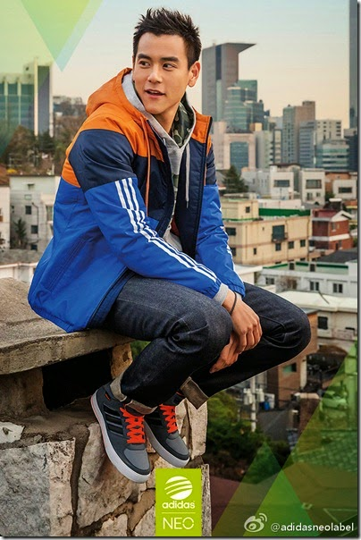adidas Neo Label X Eddie Peng 2014 summer-fall 17