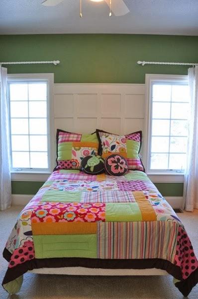 Paint color for girls bedroom - Buckingham Gardens by Benjamin Moore