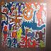 Keith Haring - Projektarbeit einer Gruppe aus Jg. 5 und 6 mit Unterstützung von Jg. 10