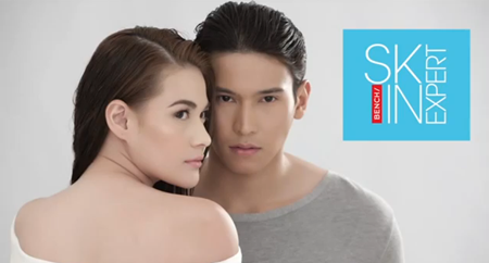 Bea Alonzo and Enchong Dee for Bench Skin Expert