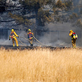 Grass Fire, 44th near 47th, Sacramento, CA