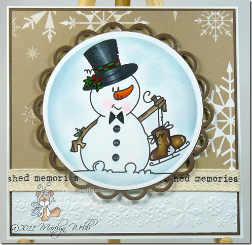 Chubby Snowman