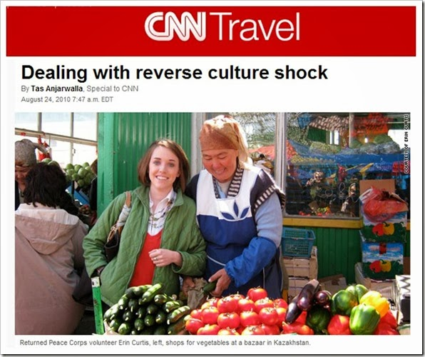 CNN Dealing with Reverse Culture Shock