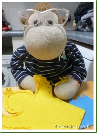 Poundland Hand Puppet Kit.