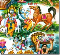 [Krishna's childhood pastimes]