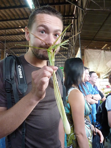 Lemon grass smells luverly... Tesco&#039;s doesn&#039;t make them this big.