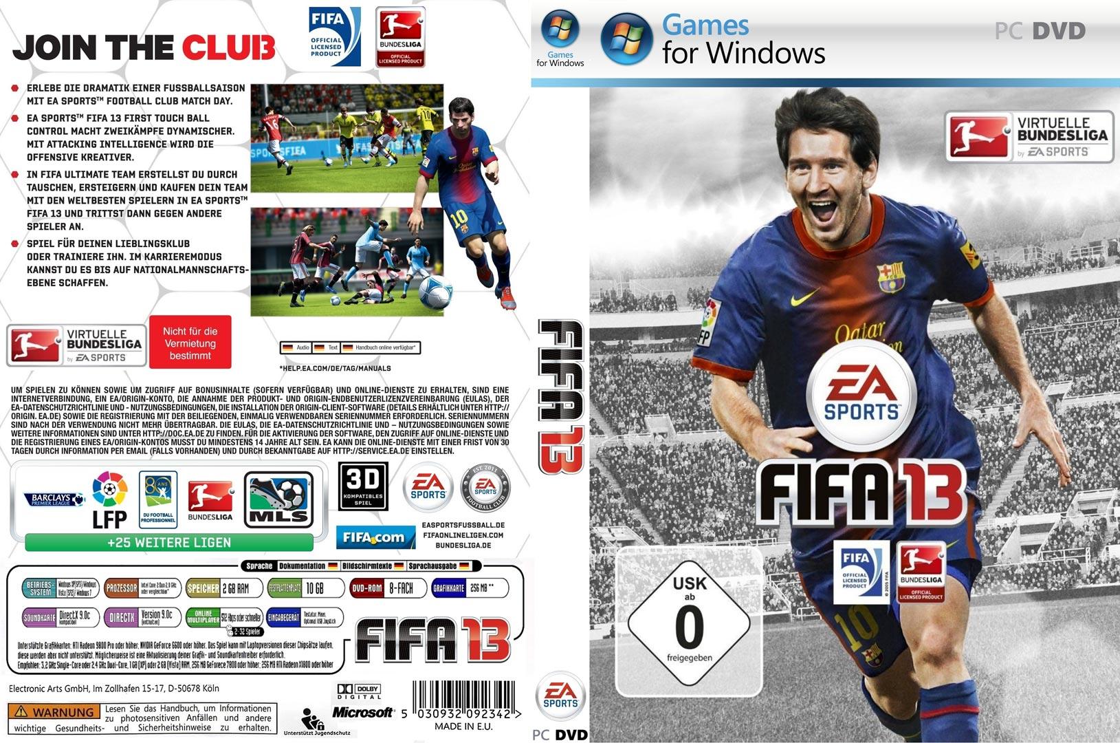 FIFA 13 скачать бесплатно торрент