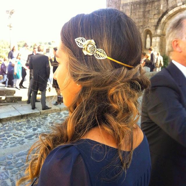 Corona semirígida dorado Miss Cossio de Miss Crafts by Almudena Valiente