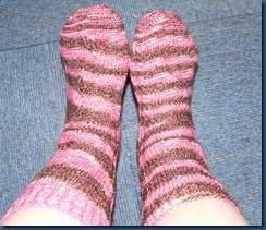 02 Blütenband Socken für mich