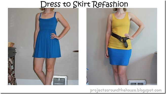 dress to skirt