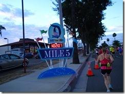Disneyland Half Marathon Mile 5