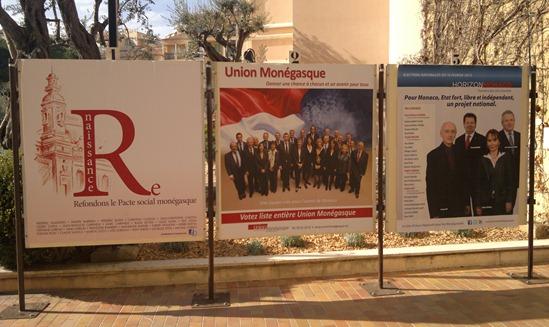 Campanha electorala monegasca 2013