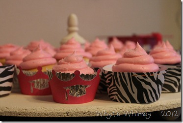 Raspberry Filled Vanilla with Buttercream