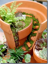 Broken Pot - Mini Garden