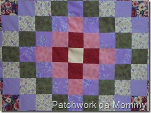 Around the world quilt 011