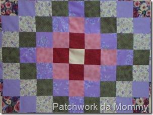 Around the world quilt 011