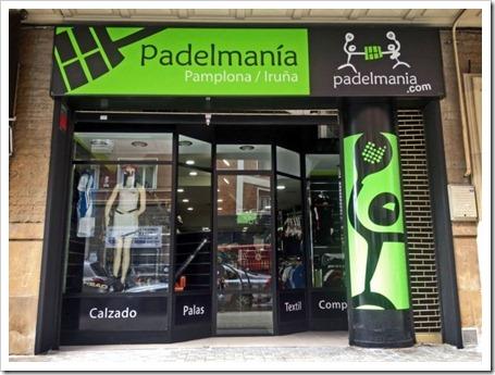 Padelmanía abre una nueva tienda en Pamplona, continua la expansión de la cadena.
