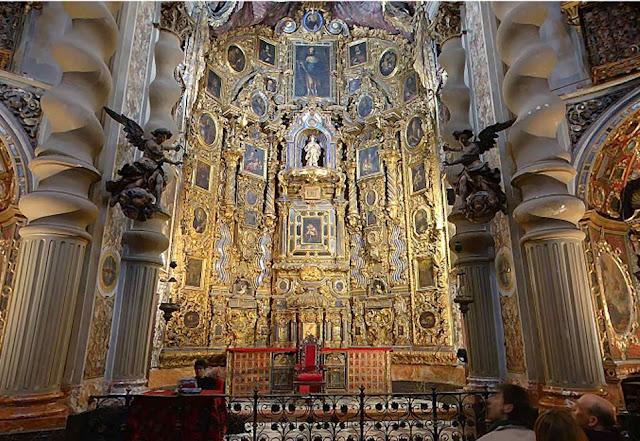 Arquitectura barroca espa ola iglesia de san luis for Arquitectura espanola