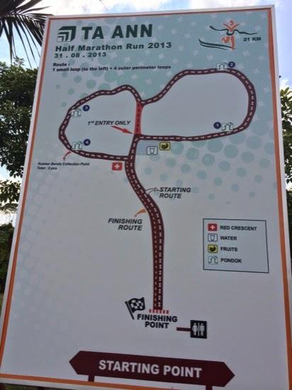 The park route