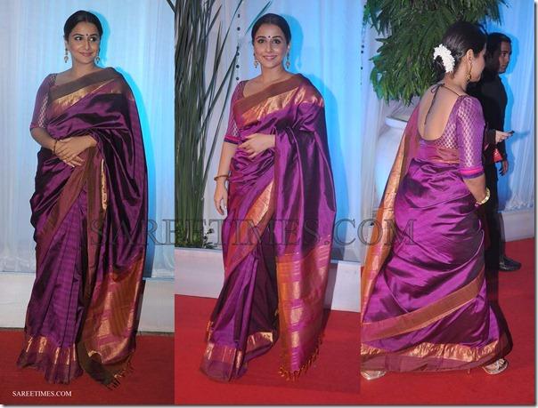 Vidya_Balan_Purple_Kanjeevaram_Silk_Saree