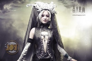 Lineage 2: Beatuful Girls Cosplaying Lineage II